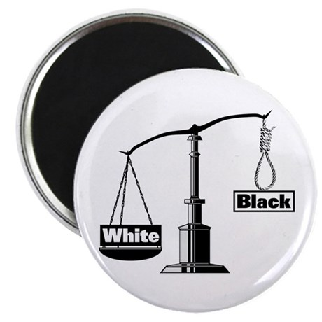 Racist Justice System Magnet