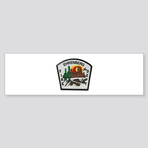 Ehrenberg Fire Department Bumper Sticker