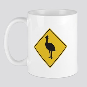 Attention Cassowaries, Australia Mug