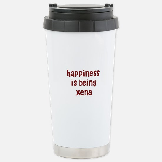 happiness is being Xena Mugs