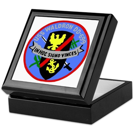USS Waldron (DD 699) Keepsake Box