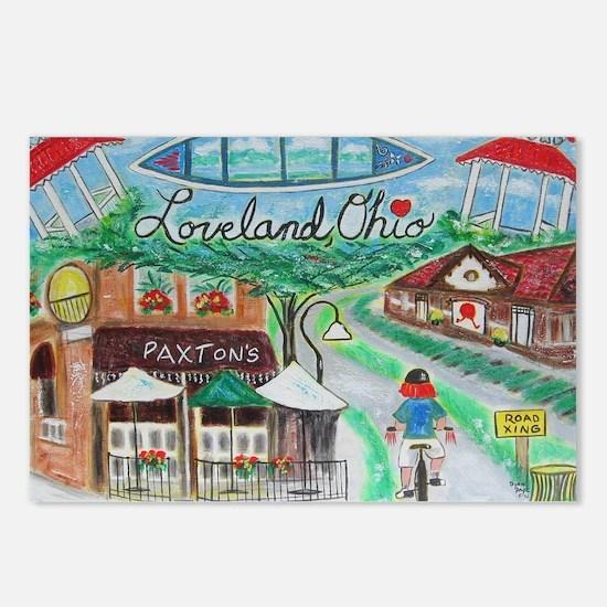 Loveland, Ohio - Lightene Postcards (Package of 8)