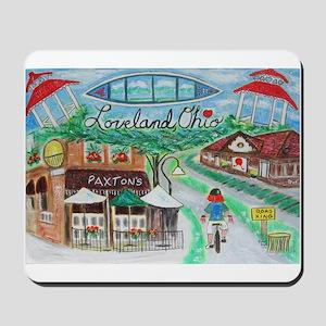 Loveland, Ohio - Lightened Mousepad