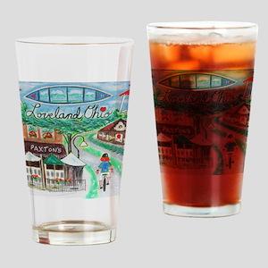 Loveland, Ohio - Lightened Drinking Glass