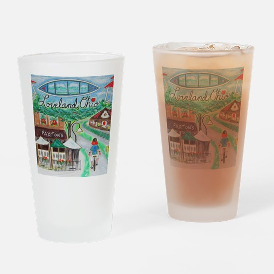 Loveland, Ohio - Lightened.jpg Drinking Glass
