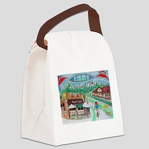Loveland, Ohio - Lightened Canvas Lunch Bag