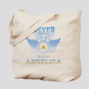 Never underestimate the power of angelica Tote Bag