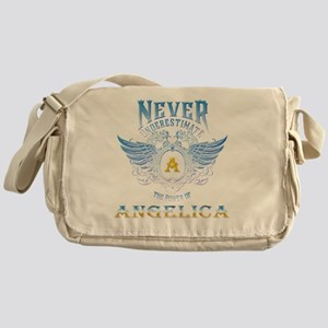Never underestimate the power of ang Messenger Bag
