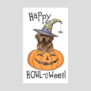 Halloween Lab Rectangle Sticker