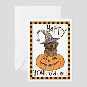 Halloween Lab Greeting Card