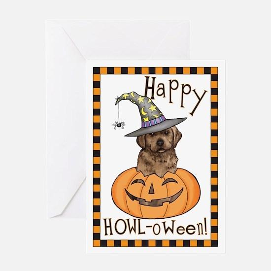 Halloween Lab Greeting Card