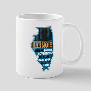 Illinois Governors Large Mugs