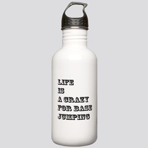 Life is A Crazy For Ba Stainless Water Bottle 1.0L