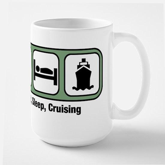 Eat, Sleep, Cruising Mugs