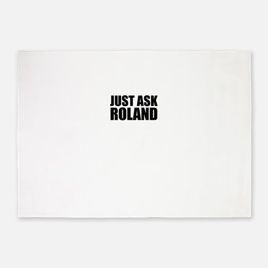 Just ask ROLAND 5'x7'Area Rug