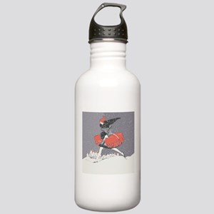 1920s winter fashion w Stainless Water Bottle 1.0L