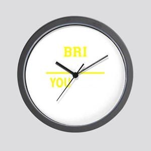 BRI thing, you wouldn't understand! Wall Clock
