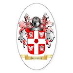 Samunin Sticker (Oval 50 pk)
