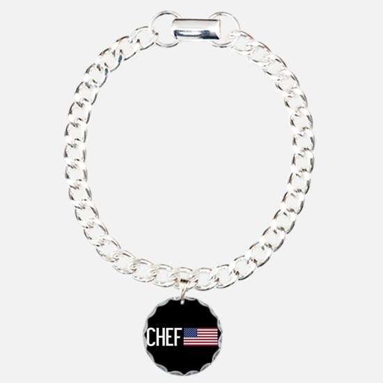 Careers: Chef (U.S. Flag Bracelet