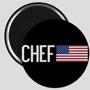 Careers: Chef (U.S. Flag) Magnet