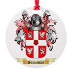 Samuelson Round Ornament
