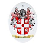 Samuelson Oval Ornament