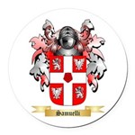 Samuelli Round Car Magnet