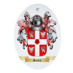 Samu Oval Ornament