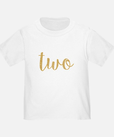 gold two T-Shirt