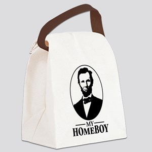 abraham lincoln is my homeboy Canvas Lunch Bag