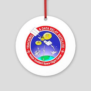 TDRS 1st Gen Program Logo Round Ornament