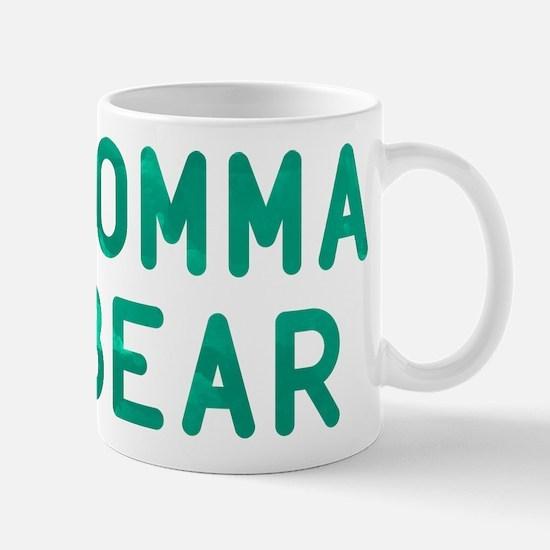 Momma Bear Green Mug