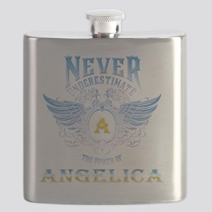 Never underestimate the power of angelica Flask