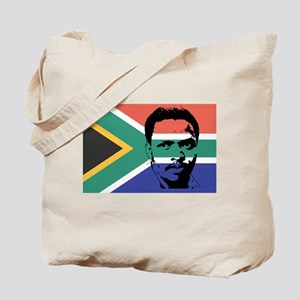 Biko on South African Flag Tote Bag