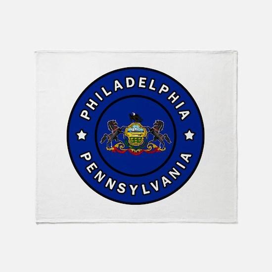 Philadelp Throw Blanket
