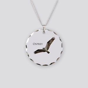 Osprey Necklace Circle Charm
