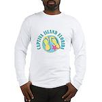 Captiva Flip Flops - Long Sleeve T-Shirt