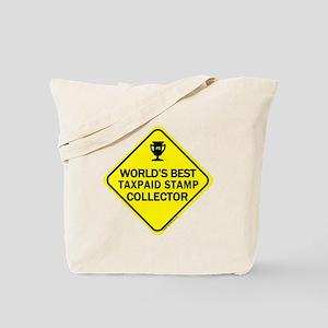 Collector Taxpaid Revenue Sta Tote Bag