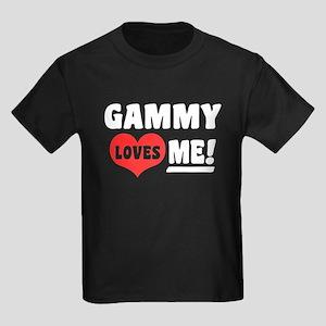 Gammy Loves Me Kids Dark T-Shirt