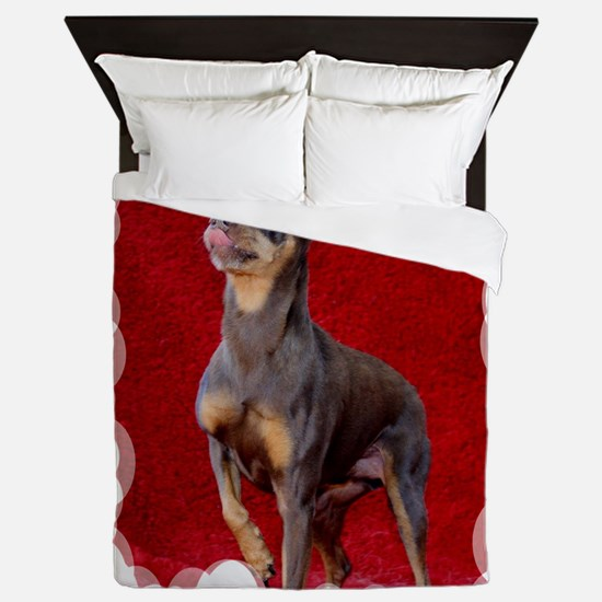 Cute Rescued horse Queen Duvet