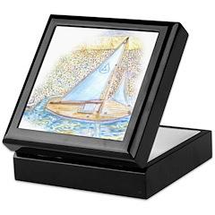 Sailboat Keepsake Box