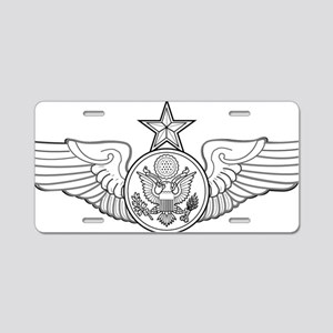 SENIOR ENLISTED AIRCREW Aluminum License Plate
