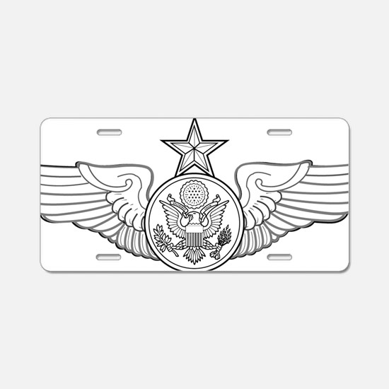 SENIOR ENLISTED AIRCREW.png Aluminum License Plate