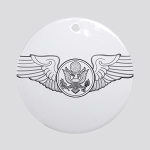 ENLISTED AIRCREW Round Ornament