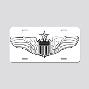 SENIOR PILOT WINGS Aluminum License Plate