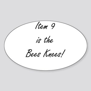 Item 9 is the Bees Knees Sticker