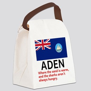 Aden Canvas Lunch Bag