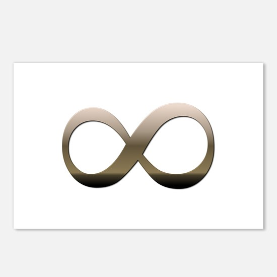 Infinity Postcards (Package of 8)