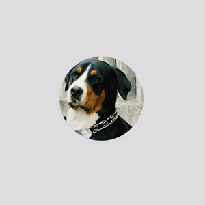 greater swiss mountain dog Mini Button