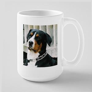greater swiss mountain dog Mugs